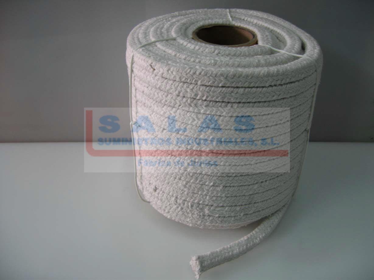 Trenzas fibra cerámica